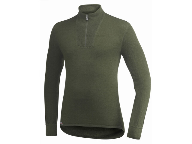 Woolpower 200 Pullover Cuello Tortuga Mujer, pine green